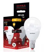 Supra SL LED CR G45 6W 3000 E14